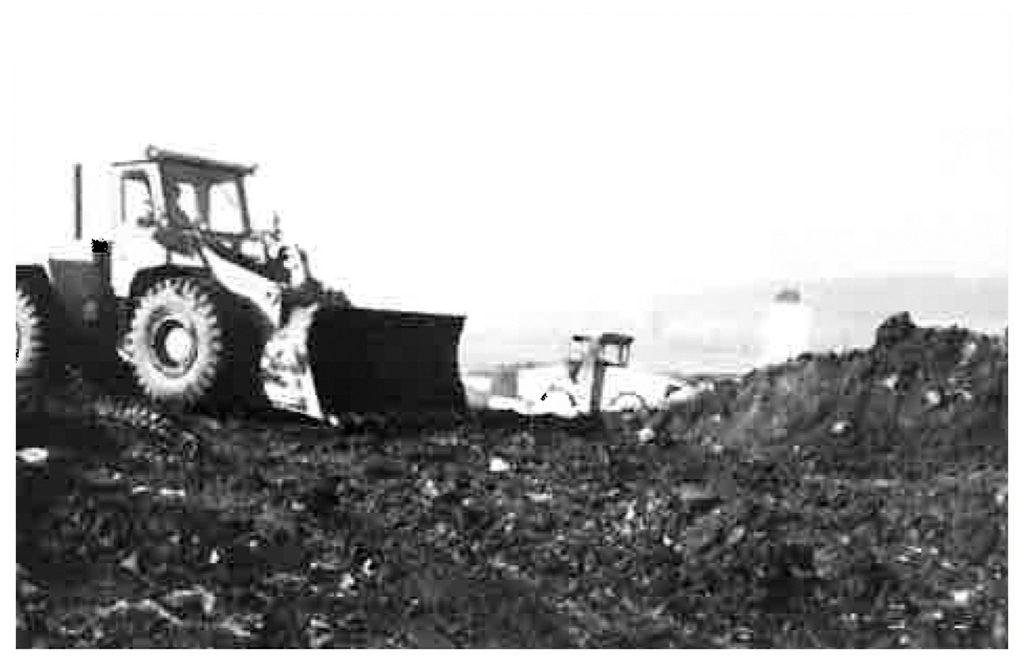 1979 – Erdarbeiten für den Bau der neuen Halle